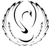 Cisne ilustración del vector