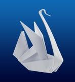 Cisne de Origami Foto de archivo