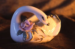 Cisne del ornamento Imagenes de archivo