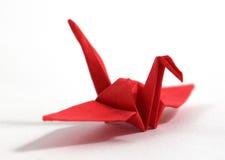 Cisne do origâmi imagem de stock