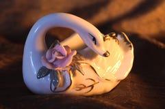 Cisne do ornamento Imagens de Stock
