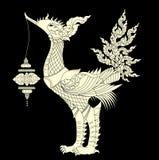 CISNE TAILANDÉS imagen de archivo libre de regalías