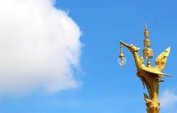 Cisne y cielo tailandeses imágenes de archivo libres de regalías