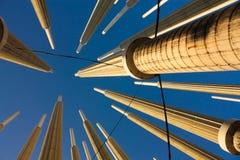 Cisneros of Licht vierkant. Medellin, Colombia Stock Afbeeldingen