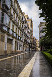 Cister Street, Malaga, Spain Royalty Free Stock Image