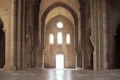 Cisterciënzer abdij stock foto