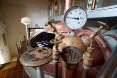 Cisterciënzer abdij van orval België het biertrapista van notredame Royalty-vrije Stock Afbeelding
