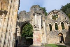 Cisterciënzer abdij van orval België het biertrapista van notredame Royalty-vrije Stock Foto