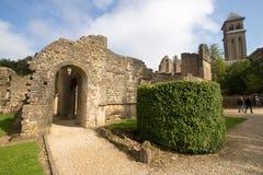 Cisterciënzer abdij van orval België het biertrapista van notredame Royalty-vrije Stock Fotografie