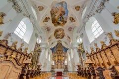 Cisterciënzer Stams-Abdij in Imst, Oostenrijk Royalty-vrije Stock Afbeelding