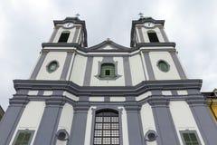 Cistercian教会在Szekesfehervar,匈牙利 免版税库存图片