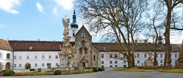 Cistercian монастырь Heiligenkreuz Стоковые Фото