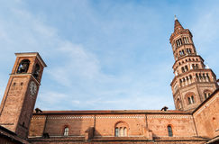 The cistercian abbey of Chiaravalle in Milan Royalty Free Stock Photos