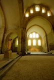 Divine cloister light Stock Photography