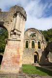 Cistercian abbey of notre dame orval belgium beer trapista Stock Images