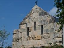 Cistercian Abbey Our Lady von Dallas c Abschluss 1955 oben Lizenzfreies Stockbild