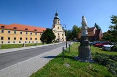 Cistercian abbotskloster i Rudy Fotografering för Bildbyråer