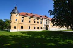 Cistercian abbotskloster i Rudy Royaltyfri Foto