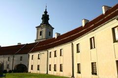 Cistercian abbotskloster i Sulejow Arkivbilder