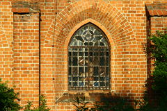 Cistercian abbotskloster i Sulejow Arkivfoto