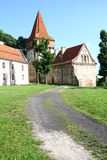 Cistercian abbotskloster i Sulejow Arkivbild