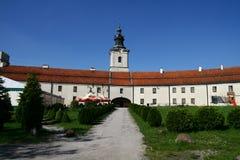 Cistercian abbotskloster i Sulejow Arkivfoton