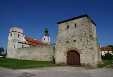 Cistercian abbotskloster i Sulejow Royaltyfria Foton