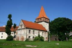 Cistercian Abtei in Sulejow Stockbilder