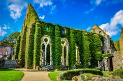 Cistercian Abtei von Villers Lizenzfreies Stockfoto