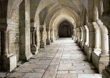 Cistercian cloister Royaltyfri Fotografi