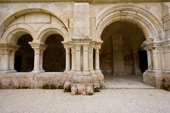 Cistercian cloister Royalty Free Stock Photo