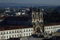 Cistercian Kloster in Alcobaça Portugal Stockbilder