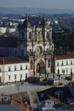 Cistercian Kloster in Alcobaça Portugal Stockbild