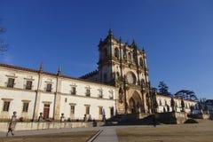 Cistercian Kloster in Alcobaça Portugal Stockfotos
