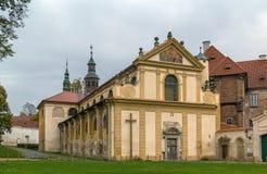 Cistercian Kloster, Plasy, Tschechische Republik Lizenzfreie Stockbilder