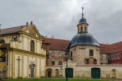Cistercian Kloster, Plasy, Tschechische Republik Stockbilder