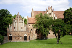 Cistercian monastery Chorin Stock Photo