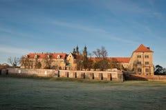Cistercian monastery. Lubiaz Cistercian monastery in Poland Stock Image