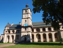 Cistercian monastery, Wąchock, Poland. Cistercian monastery in Koprzywnica, Poland Stock Image