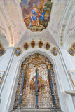 Cistercian Stams修道院在Imst,奥地利 图库摄影