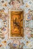 Cistercian Stams修道院在Imst,奥地利 免版税图库摄影