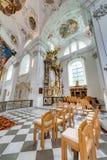 Cistercian Stams修道院在Imst,奥地利 免版税库存图片