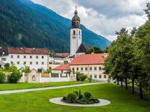 Cistercian Stams Abbey in Imst, Austria Stock Image