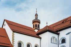 Cistercian Stams Abbey in Imst, Austria Stock Photo