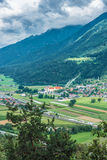 Cistercian Stams Abbey in Imst, Austria Royalty Free Stock Image