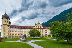 Cistercian Stams Abbey in Imst, Austria stock photos