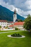 Cistercian Stams-Abtei in Imst, Österreich stockfotografie
