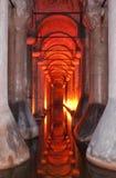 cistern för 02 basilica Arkivbild