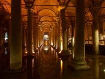 Cistern i Istanbul arkivfoton