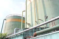 Cistern of industrial Stock Image